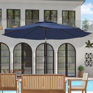 Wiechmann 9' Market Sunbrella Umbrella by Breakwater Bay