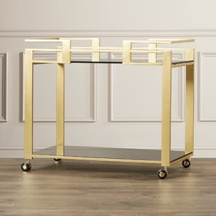 Ikon Avondale Bar Cart by Sunpan Modern