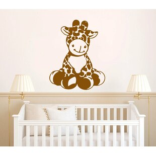 Hollandsworth Giraffe Baby Vinyl Graphic Wall Decal