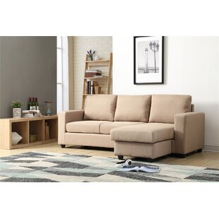 Cleland Heights Reversible Sectional with Ottoman