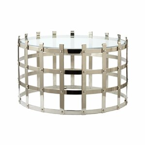 Strap Coffee Table by Lazy Susan USA