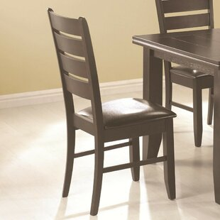 Kohut Wooden Dining Chair (Set of 2) Winston Porter