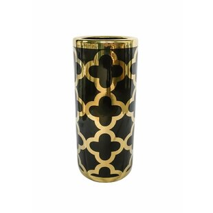 Mercer41 Karpinski Embellished Decorative Round Umbrella Stand