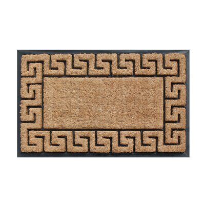 Greek Key Border Door Mat A1 Home Collections LLC