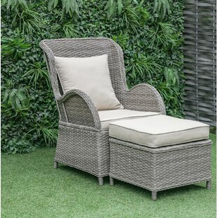 Silke Patio Chair with Cus..