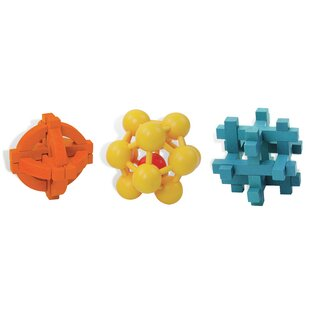 3 Piece Brain Twister Set by Outside Inside