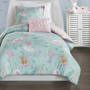 Samples Printed Mermaid Comforter Set