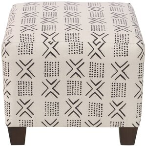 Ilana Square Ottoman by Bungalow Rose