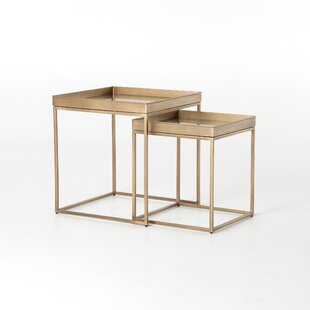 Haman Nesting Nightstand Set (Set of 2) by Brayden Studio