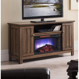 Allen TV Stand for TVs up to 65 with Electric Fireplace Included by Millwood Pines