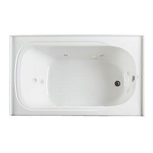 Vision 59.75 x 32 Alcove Whirlpool Bathtub