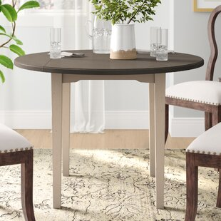 Affordable Price Kinsey Drop Leaf Dining Table ByRosecliff Heights
