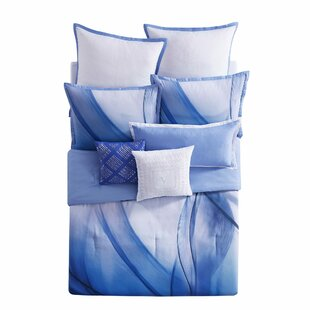 Vince Camuto Talia Abstract Reversible Comforter Set
