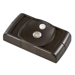 Battery Operated LED Under Cabinet Puck Light By Acclaim Lighting Outdoor Lighting
