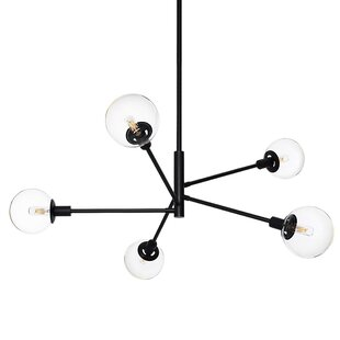 Brayden Studio Cohen 5-Light Sputnik Chandelier