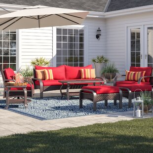 Cerralvo 7 Piece Sunbrella Sofa Set with Cushions