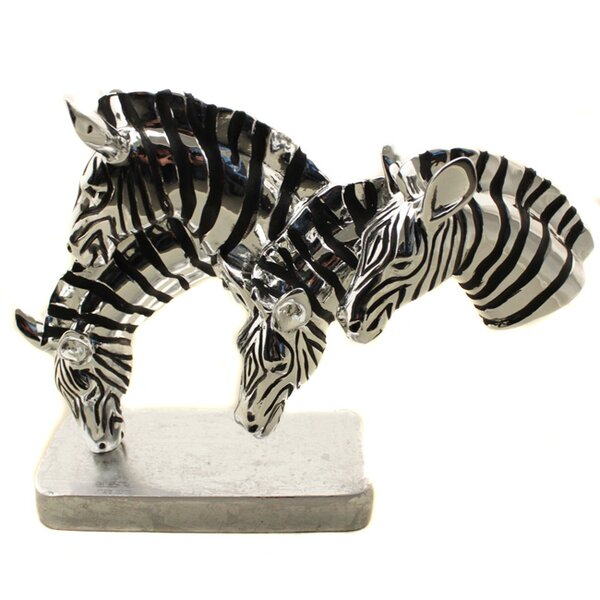 World Menagerie Zebras Table Bust Reviews Wayfair