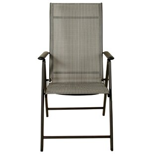 Alessa Reclining Folding Patio Dining Chair