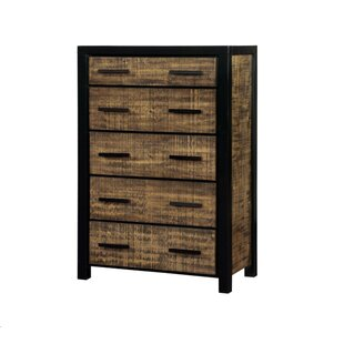 Loon Peak Landry 5 Drawer Chest