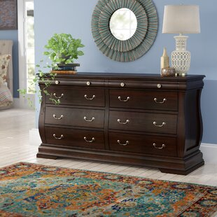Liverpool 6 Drawer Double Dresser