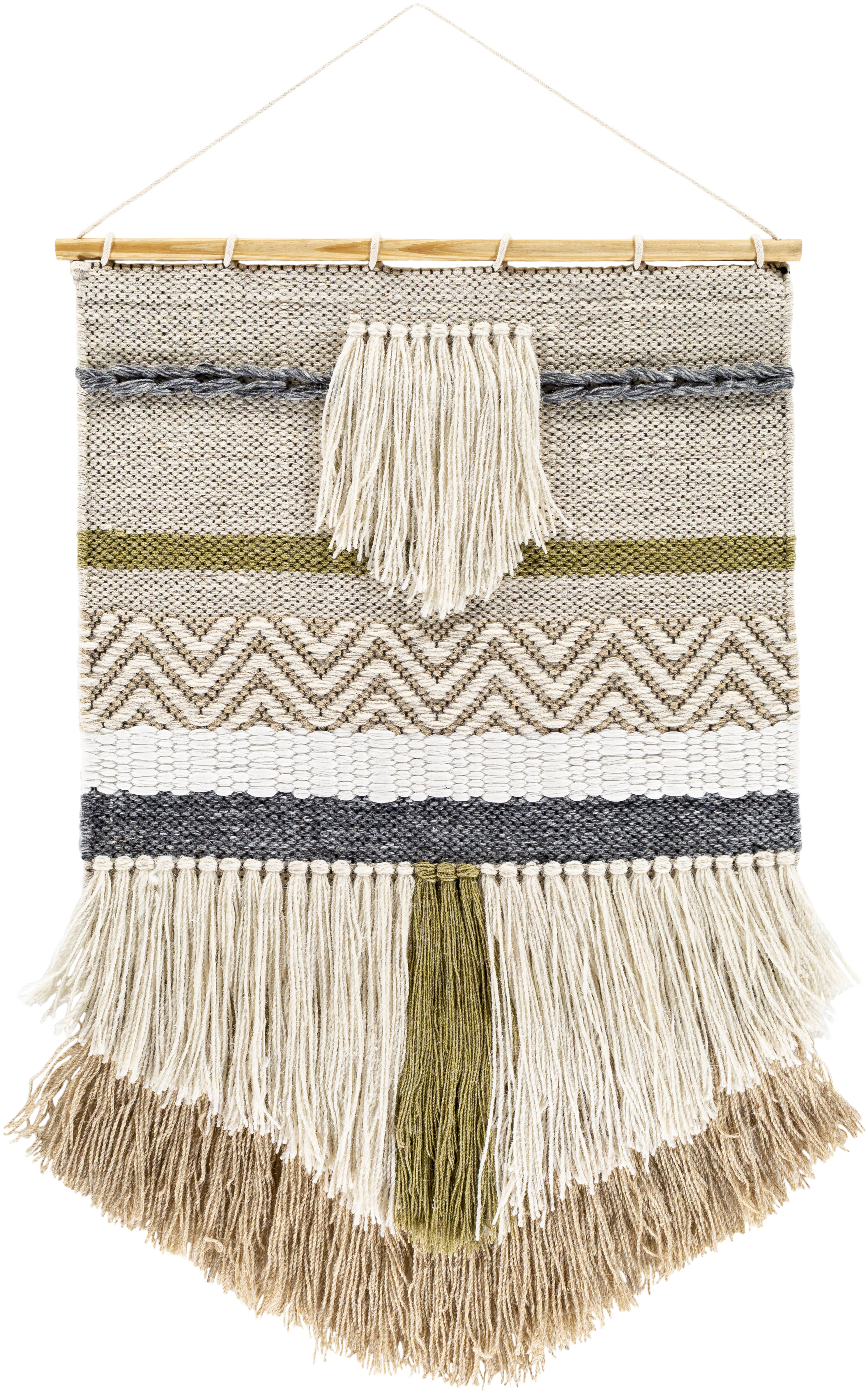 Foundry Select Blended Fabric Saiful Wall Hanging With Rod Reviews Wayfair