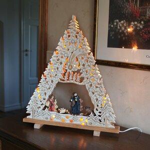 Nativity 10 Light Table Lamp