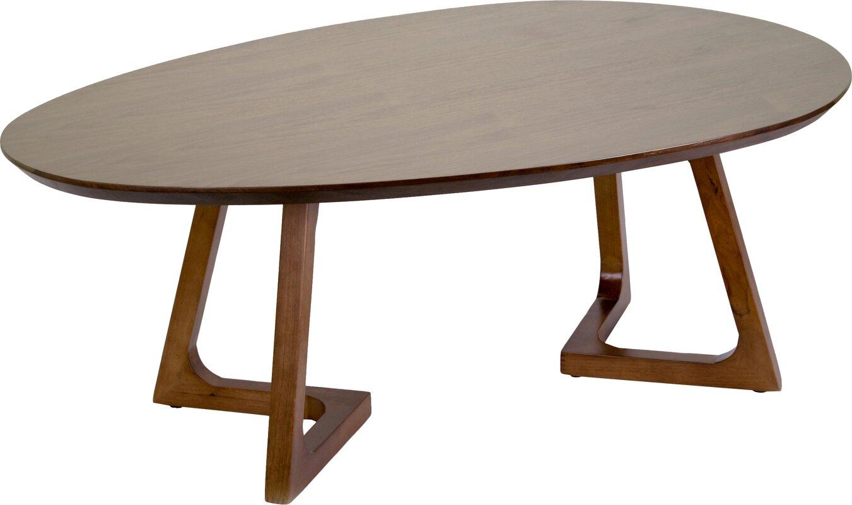 Wonderful Ailsa Irregular Oval Coffee Table