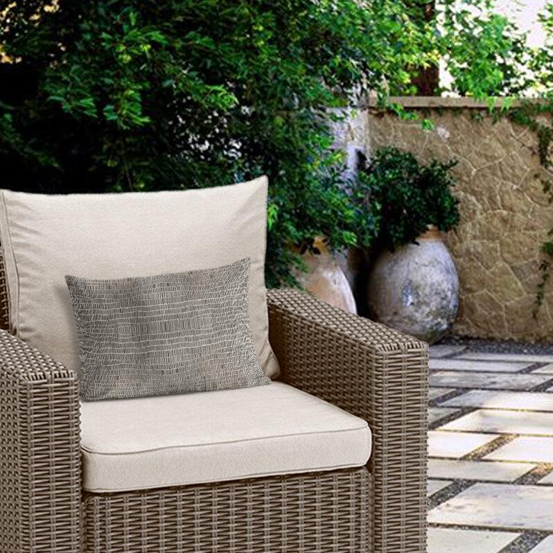Union Rustic Snider Indoor Outdoor Lumbar Pillow Wayfair