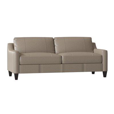 Astonishing Wayfair Custom Upholstery Jesper Leather Sofa Body Fabric Pabps2019 Chair Design Images Pabps2019Com