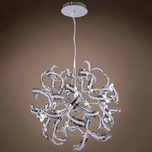 House of Hampton Montross 6-Light Globe Chandelier