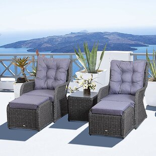 Nantan 2 Seater Rattan Conversation Set By Sol 72 Outdoor