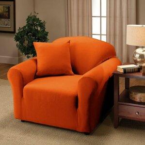 Jersey Box Cushion Armchair Slipcover