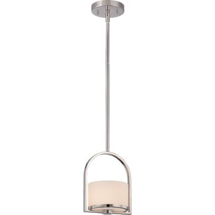 Ebern Designs Curtin 1-Light Drum Pendant