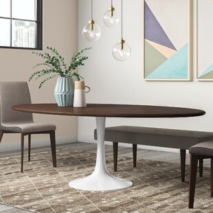 Julien Solid Wood Dining Table Langley Street