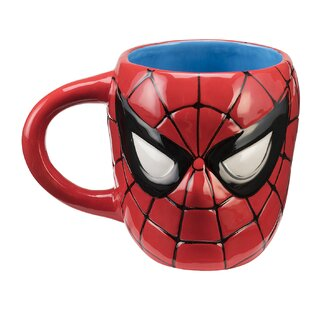 Marvel Spider-Man Sculpted Coffee Mug