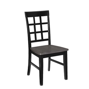 Find a Upshaw Window Pane Solid Wood Dining Chair (Set of 2) by Gracie Oaks Reviews (2019) & Buyer's Guide