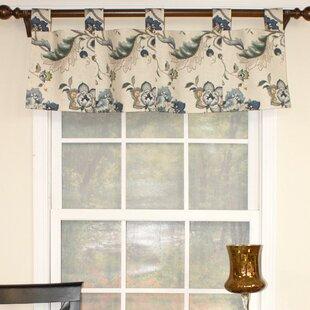 Ophelia Patchwork Tab Iris Curtain Valance