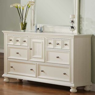Miami Springs 6 Drawer Combo Dresser by Beachcrest Home