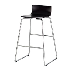 Check Prices Caiden Bar-Height Steel Stool by Rebrilliant Reviews (2019) & Buyer's Guide