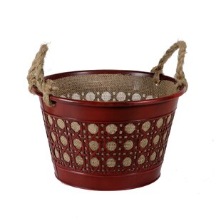 Metal Basket By August Grove