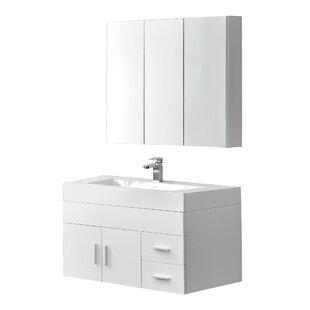 Maira 13cm Wall-Mounted Under Sink Storage Unit By Ebern Designs