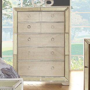 Willa Arlo Interiors Ligia 5 Drawer Chest