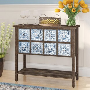 McLeansboro Rustic 8-Drawer Rectangular Wood Sideboard Charlton Home