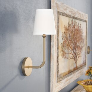 Climsland 1-Light Armed Sconce By Three Posts Wall Lights