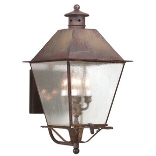 Troy Outdoor Lighting Fixtures Troy lighting outdoor wall lighting youll love montgomery 4 light outdoor sconce by troy lighting workwithnaturefo