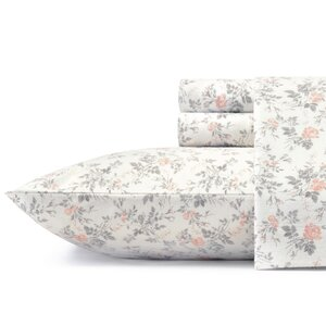 Rosalie Flannel Sheet Set by Laura Ashley Home