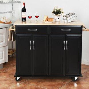 Gillispie Rolling Kitchen Cart by Charlton Home