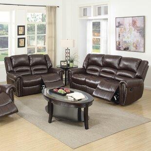Ingaret Reclining 2 Piece Living Room Set Red Barrel Studio