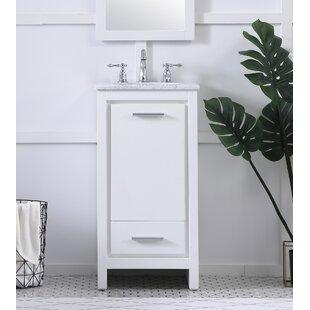 Buy luxury Easterling 18 Single Bathroom Vanity Set ByEbern Designs