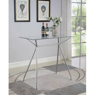 Weekley Rectangular Pub Table by Orren Ellis
